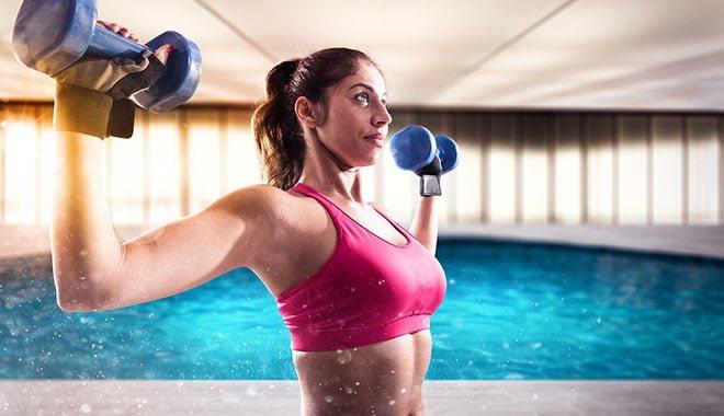 musculação e natação como conciliar exercícios