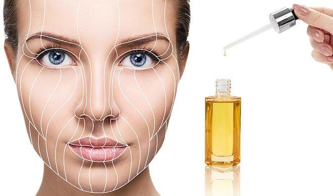Tratamento para pele com o óleo de rícino