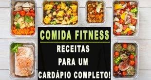 Comida Fitness receitas com cardápio completo