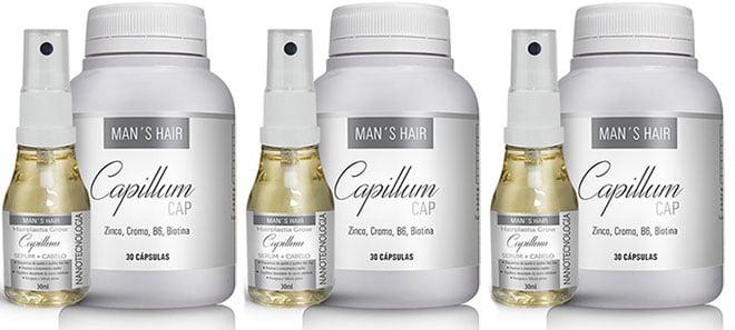 Mans hair Capillum