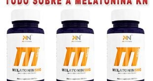 Melatonina 5 mg Sublingual KN Nutrition