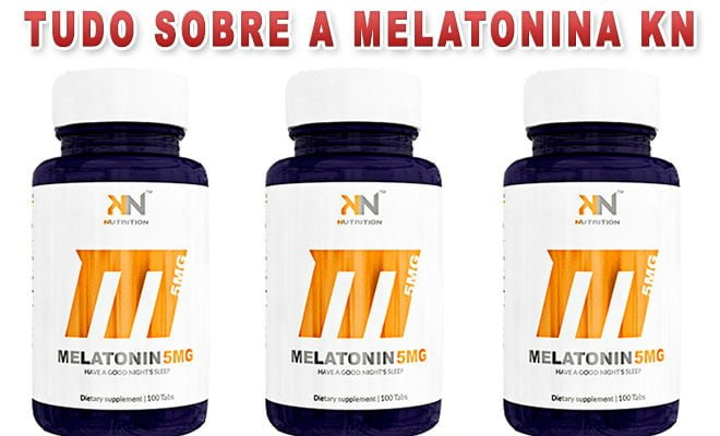 Melatonina 5 mg Sublingual KN Nutrition