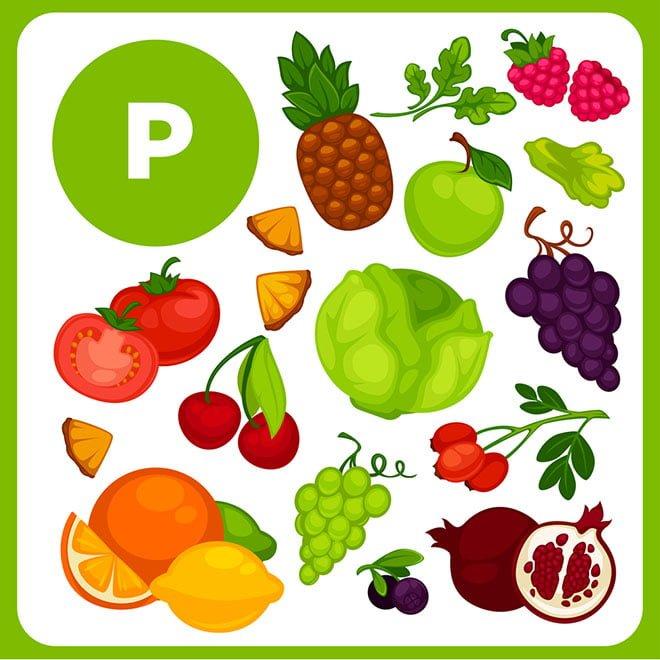 vitamina P (Bioflavonóides)