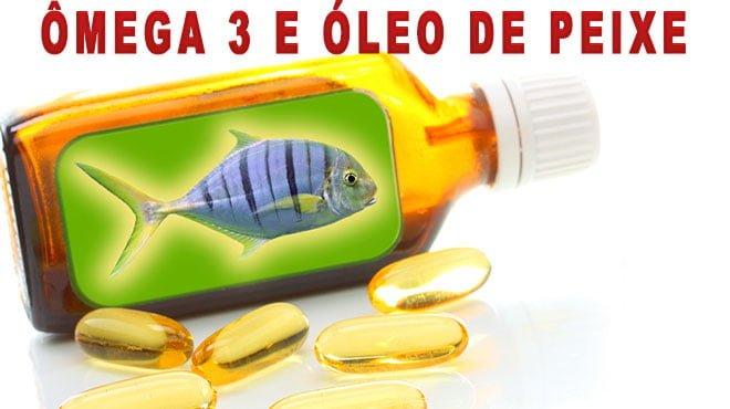 Ômega 3 e óleo de peixe