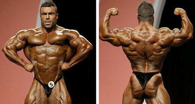 Eduardo Correa Mr Olympia 2014