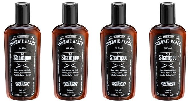 Shampoo 3x1 Johnnie Black