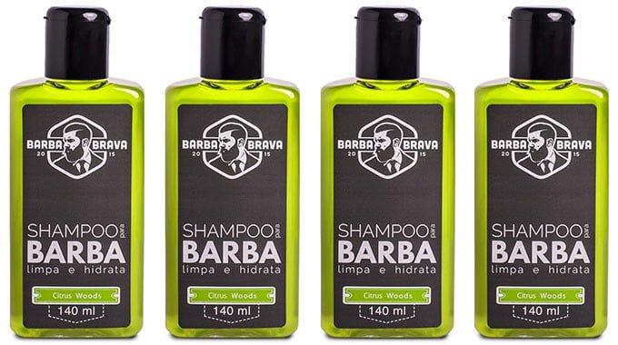 Shampoo Barba Brava Citrus Woods