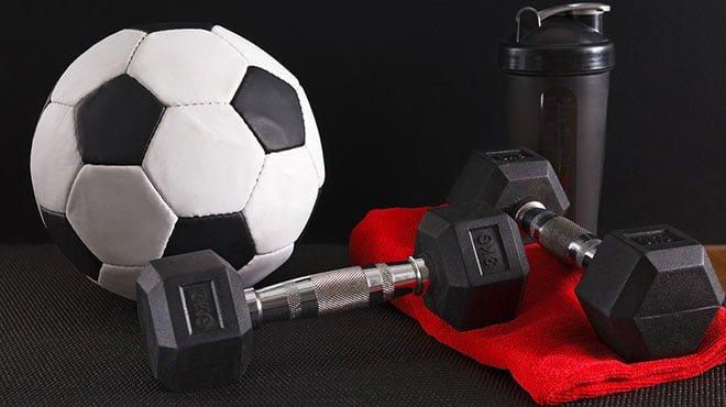 treino de futebol exercícios