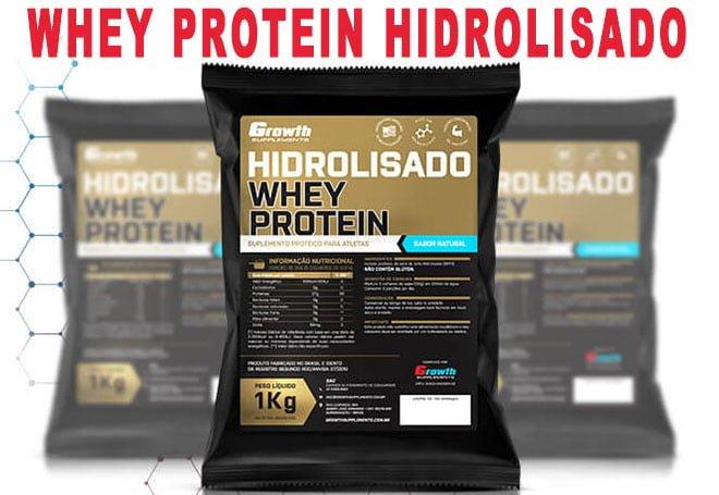 Whey Protein hidrolisado Growth Supplements