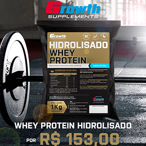 Whey protein hidrolisado Growth Supplements