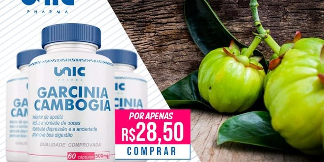 Garcinia Cambogia da Unic Pharma – Para emagrecer e aumentar a disposição!
