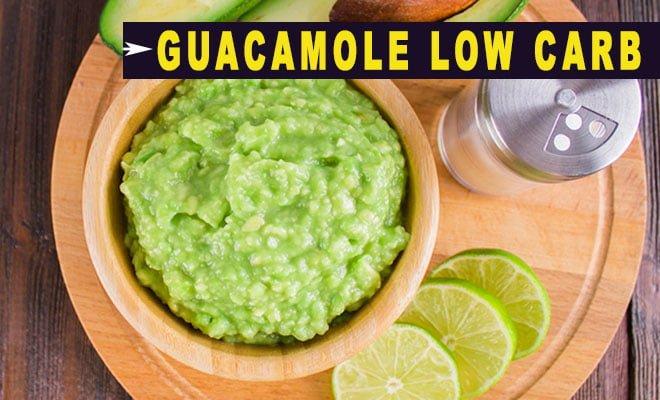 como fazer receitas de Guacamole Low Carb