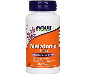 Melatonina Now Foods