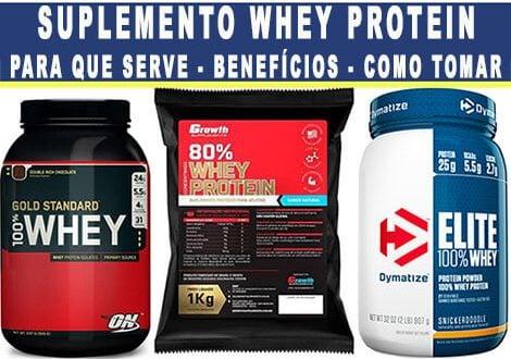 whey protein o que e para que serve como tomar