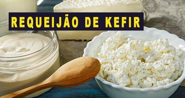 Requeijão de Kefir