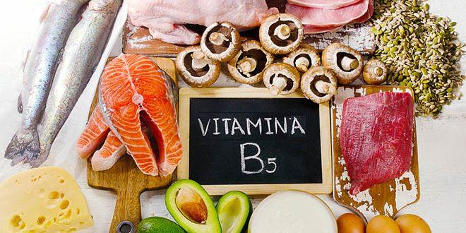 ácido pantotênico vitamina B5