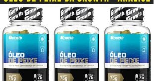 oleo de peixe growth supplements