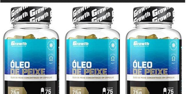 oleo de peixe growth supplements
