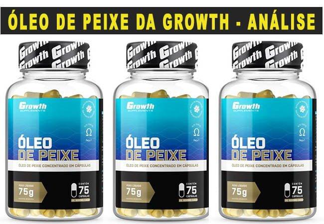 Óleo de Peixe Growth Supplements