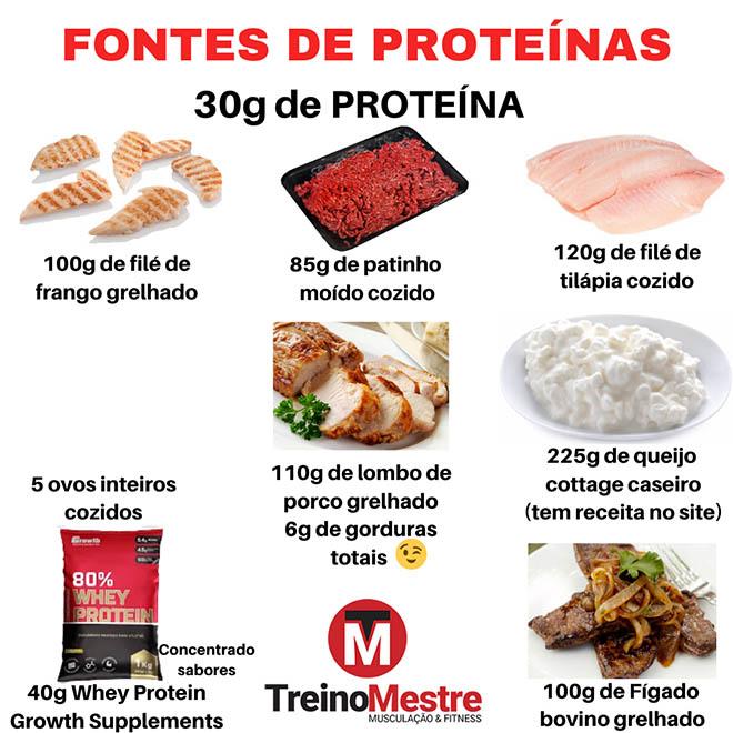 melhores fontes de proteinas dieta hipertrofia emagrecer