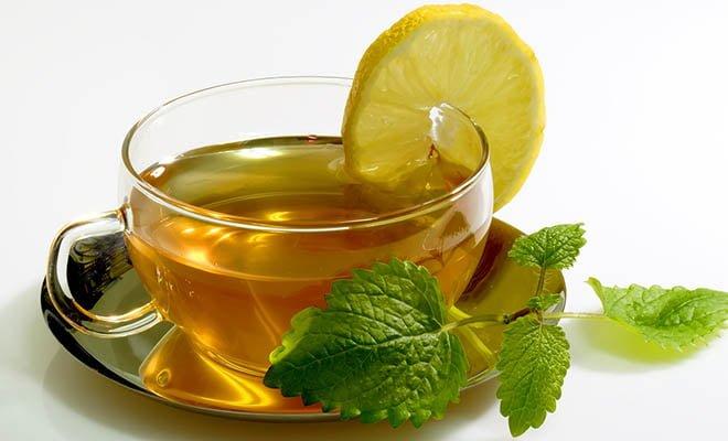 como preparar chá de erva cidreira