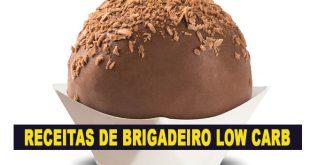receita brigadeiro low carb