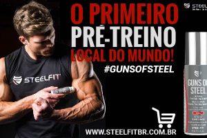 GUNS OF STEEL®, o primeiro pré treino local do mundo finalmente chegou ao Brasil!