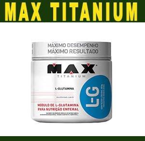 L-Glutamina Max Titanium