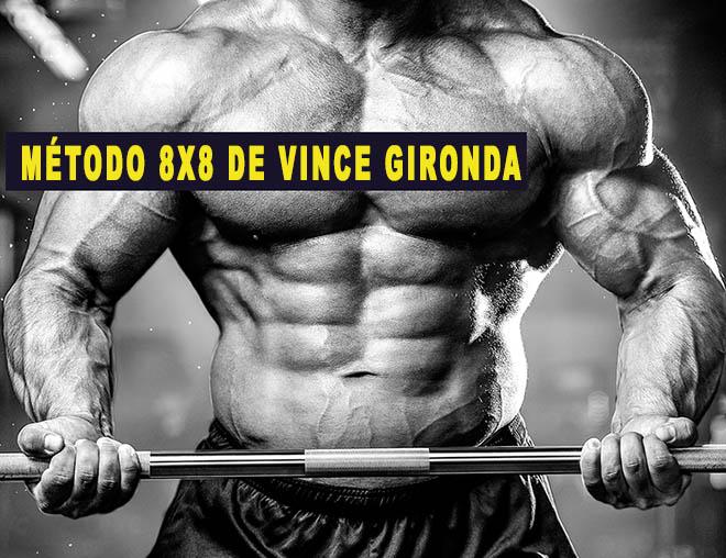 Método 8×8 de Vince Gironda treino