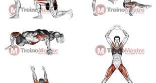 exercícios em casa para perder barriga