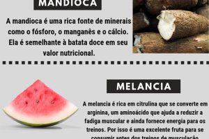 20 Alimentos para Comer Antes do Treino