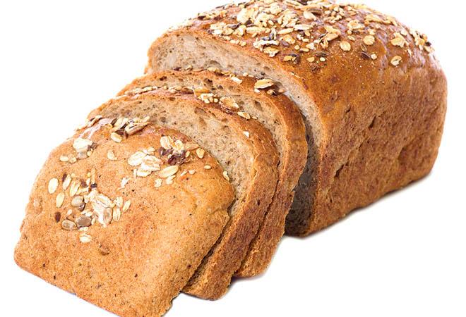 pão integral caseiro light com grãos