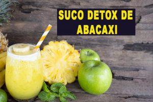 7 Receitas de Suco Detox de Abacaxi