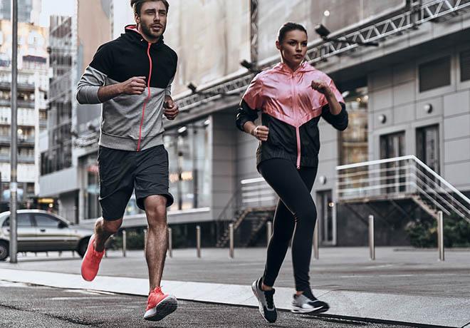 aumentar a velocidade ou as distancias percorridas na corrida de rua melhor