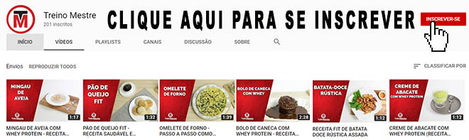 youtube canal Treino Mestre