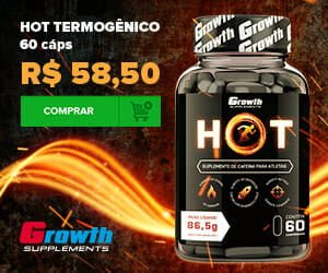 HOT Termogênico Growth Supplements