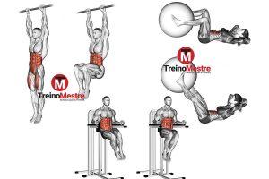 5 Melhores exercícios para região inferior do abdômen [FICHA DE TREINO]